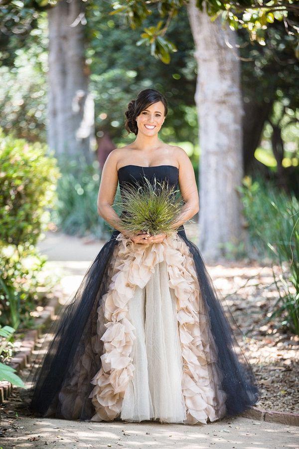 23 Dark Wedding Dresses For Brides Who Think White Is Trite