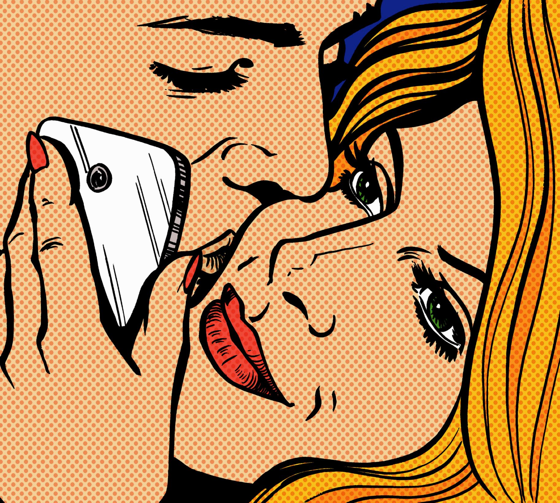 Texting the other dude or woman while you're with your significant other?Not cool.