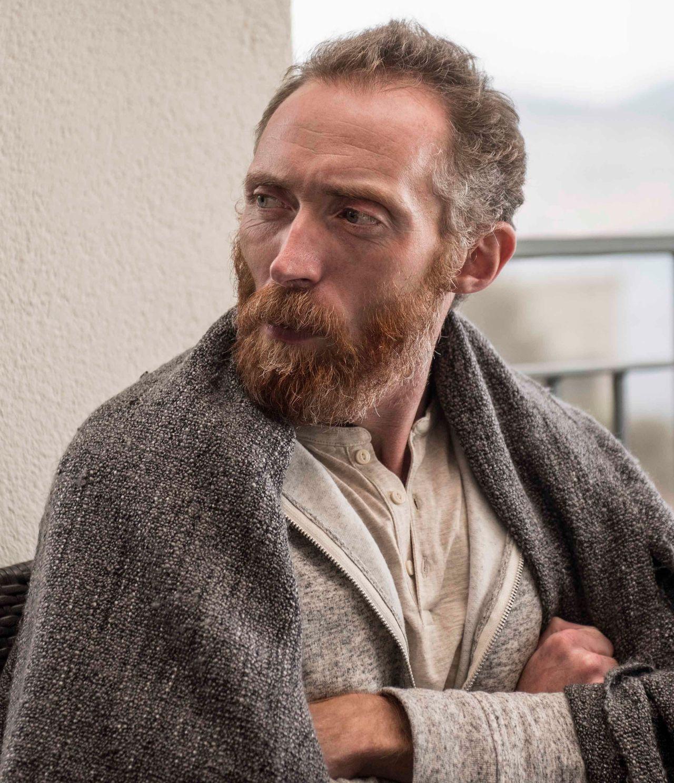 Vincent van Gogh look-alike Daniel Baker, from Christchurch, England