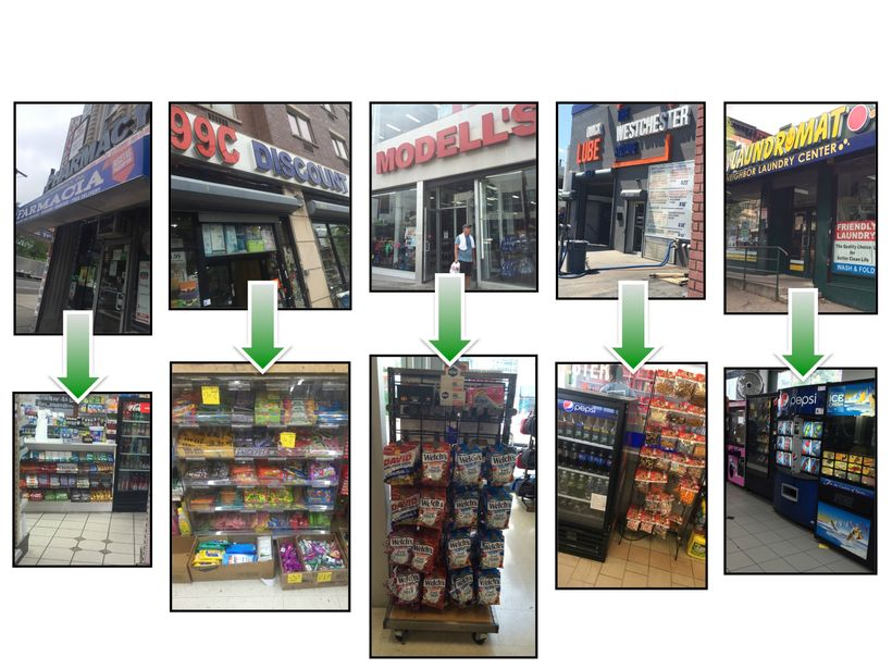 Five businesses and their food offerings in the Bronx