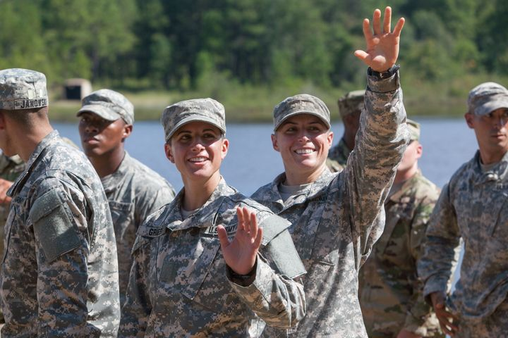 Women like Capt. Kristen Griest and 1st Lt. Shaye Haver are already training to serve in combat. But some Republicans do