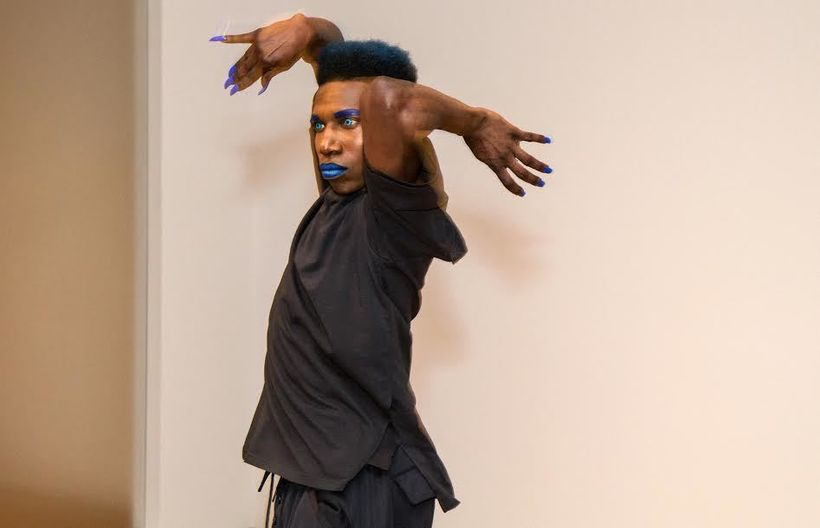 Rashaad Newsome performance piece