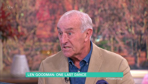 Len Goodman appeared on 'This
