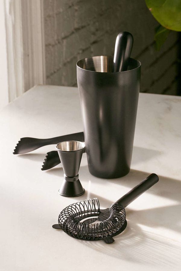 "Monochromatic Bar Cocktail Shaker Set, $50, <a href=""http://www.urbanoutfitters.com/urban/catalog/productdetail.jsp?id=4"