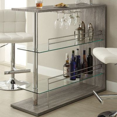 "Bar with Wine Storage, $217.99, <a href=""https://www.wayfair.com/Wildon-Home-%25C2%25AE-Wine-Bar-211267-CST17537.html"" t"