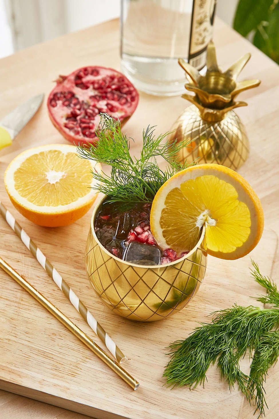 "The Pineapple Co. Pineapple Tumbler, $35, <a href=""http://www.urbanoutfitters.com/urban/catalog/productdetail.jsp?id=381"