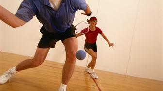 RACQUETBALL COUPLE