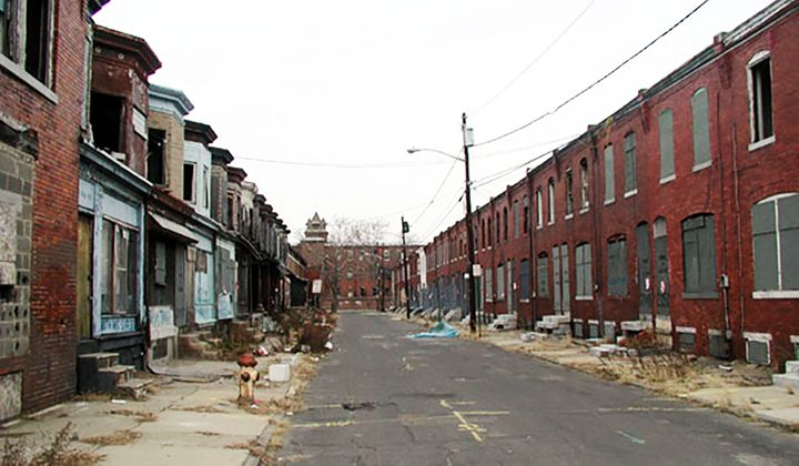 Camden, New Jersey, one of the poorest cities in the United States, has a 39% poverty, rate per capita income is less than $1