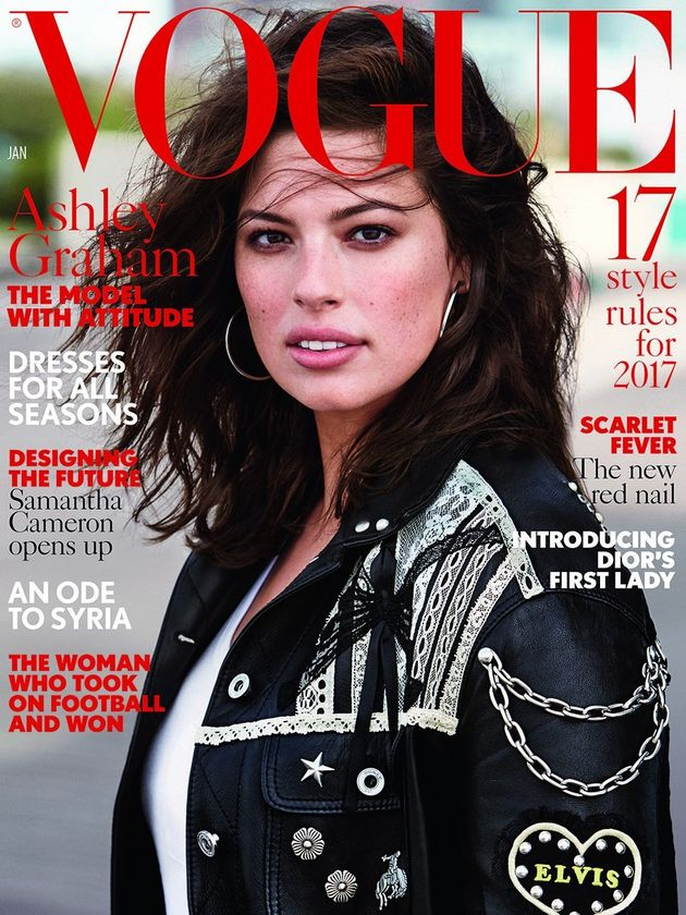 This News About Ashley Graham's British Vogue Cover Is
