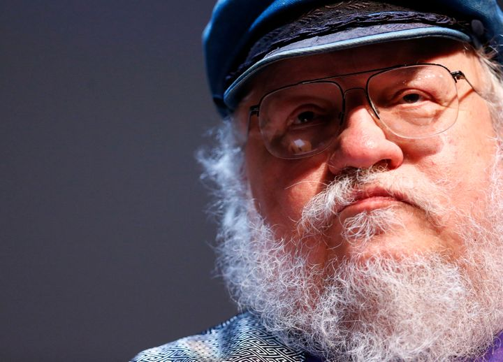 """George R. R. Martin, author of the <i>A Song of Ice and Fire</i> book series upon which the HBO series """"Game of Thrones"""" is b"""