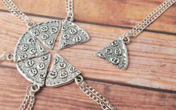 """$2.57, Etsy. Buy it <a href=""""https://www.etsy.com/listing/233120823/pizza-necklace-one-slice-pizza?ga_order=most_relevant&amp"""