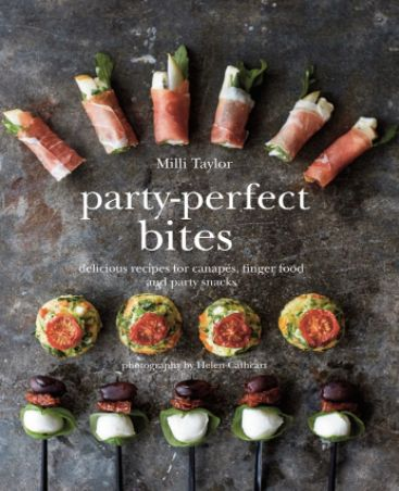 """$17.96, Amazon. Buy it <a href=""""https://www.amazon.com/Party-Perfect-Bites-Delicious-recipes-canap%C3%A9s/dp/184975568X/ref=s"""