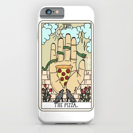 """$35.00, Society6. Buy it <a href=""""https://society6.com/product/pizza-reading_iphone-case#s6-3730790p20a9v375a52v377"""" target="""""""