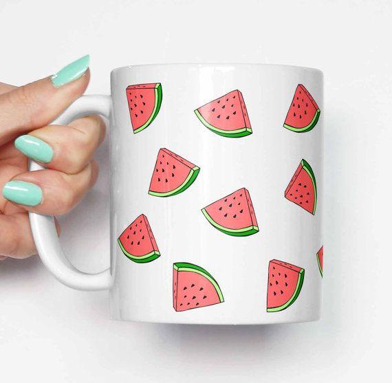 "$14.11, Etsy. Buy it <a href=""https://www.etsy.com/listing/253347604/watermelon-everywhere-funny-mug-gifts?ga_order=most_rele"