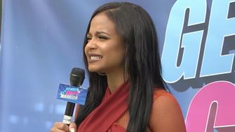 Christina Milian hosts the fictional Gender Gap Warriors competition