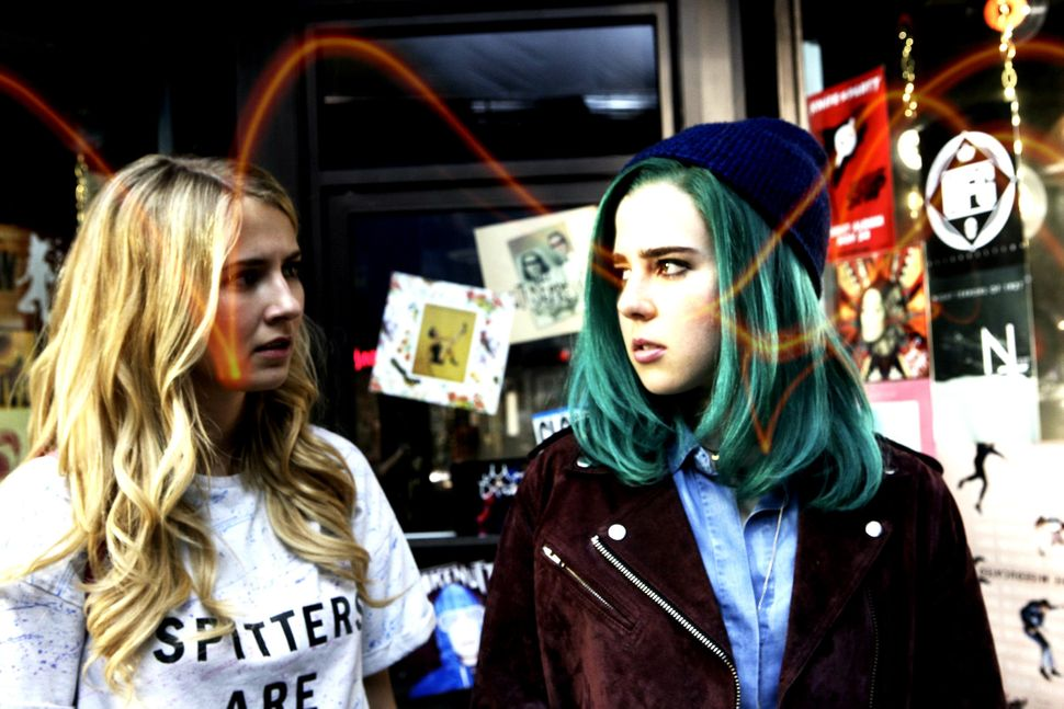 "Jules (Eliza Bennett) and Ophelia (Taylor Dearden) are the vigilante heroines of the new MTV show ""Sweet/Vicious."""
