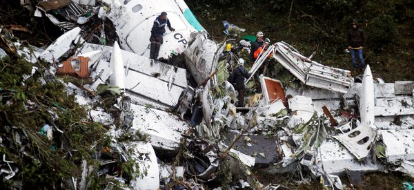 Crashed Plane Carrying Brazilian Soccer Team Was Running Out Of Fuel, A Pilot Says