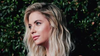 HOLLYWOOD, CA - OCTOBER 29:  (Editors Note: This image has been processed using digital filters) Ashley Benson attends the celebration for 'Pretty Little Liars' final season at Siren Studios on October 29, 2016 in Hollywood, California.  (Photo by Tibrina Hobson/Getty Images)