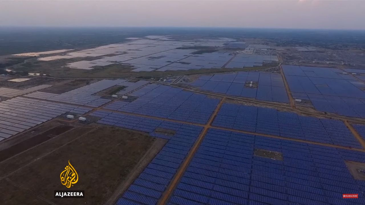 India Now Has World's Largest Solar Plant, Which Can Power 150,000
