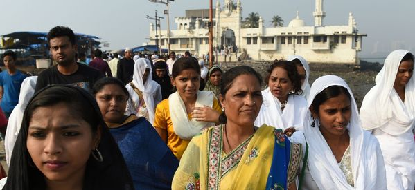 A Mumbai Mosque Lifted Its Ban On Women And Hundreds Came Out To Celebrate