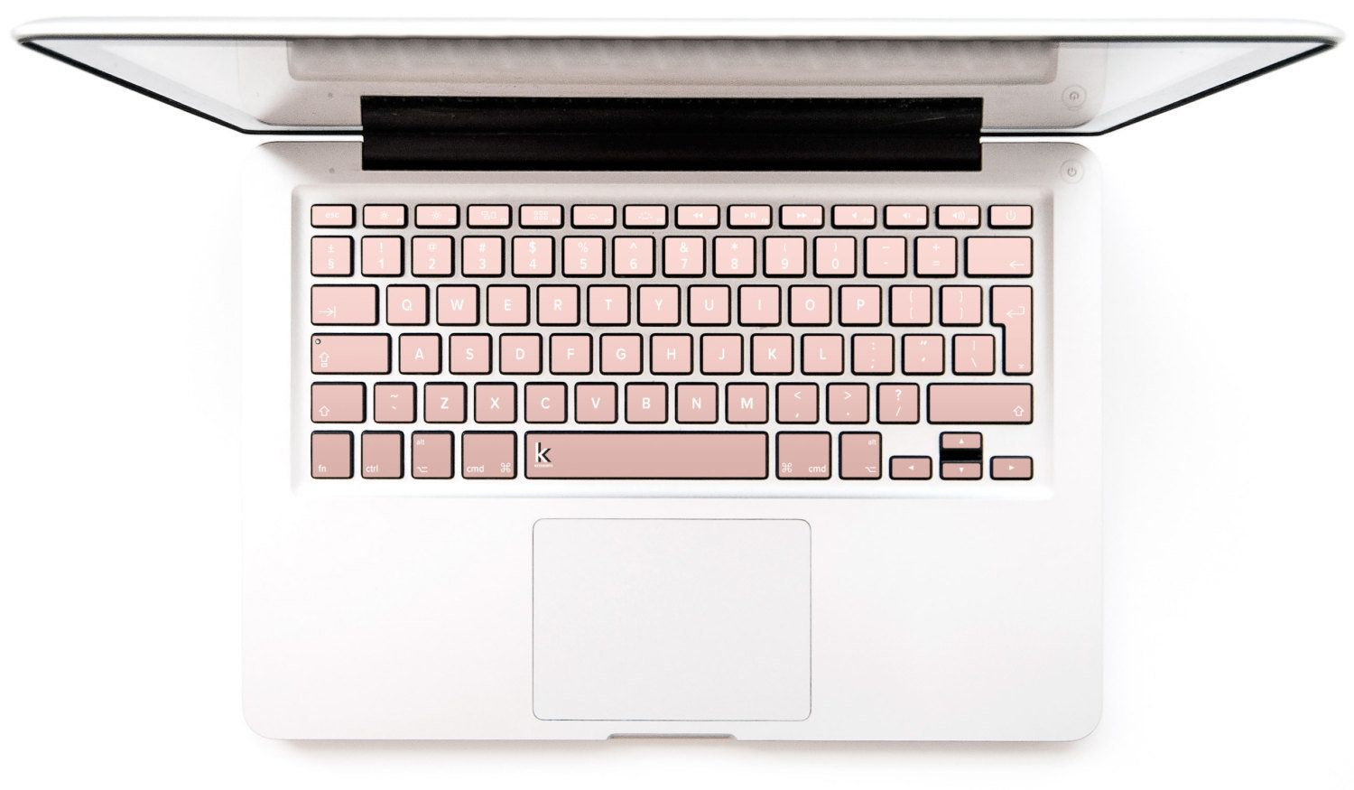 """Rose Gold OmbreMacbook Keyboard Decal, $14.95, <a href=""""https://www.etsy.com/listing/290272009/rose-gold-ombre-macbook-"""