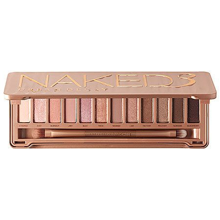 """Urban Decay Naked3, $54, <a href=""""http://www.sephora.com/naked3-P384099?skuId=1573336&icid2=products%20grid:p384099"""" targ"""