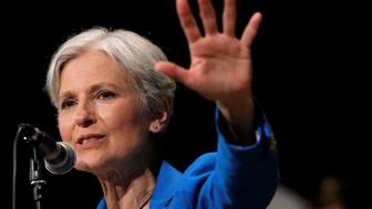 Green Party presidential candidate Jill Stein speaks at a campaign rally in Chicago, Illinois, U.S. September 8, 2016.   REUTERS/Jim Young