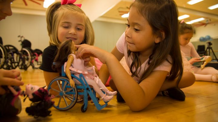 """""""The kids responded really positively to the chair, they got really excited and definitely loved it a lot!"""" Lamm said."""