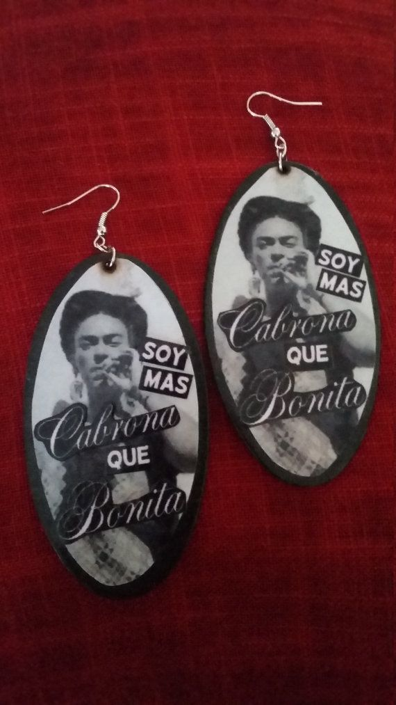 "$10.00, Etsy. <a href=""https://www.etsy.com/listing/477581364/soy-mas-cabrona-earrings?ga_order=most_relevant&ga_search_t"