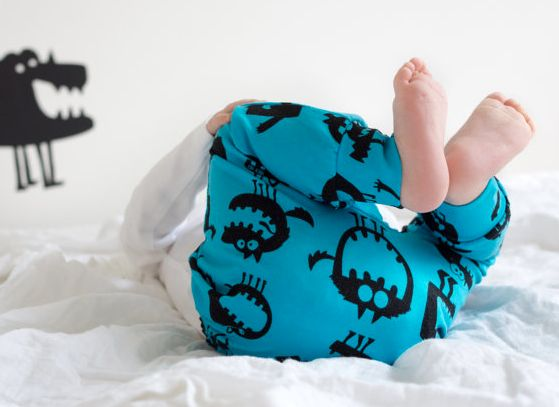 Toddler's Fred & Noah Monster Leggings 'Banned' From Nursery After They Scared A Little