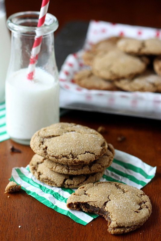 "<strong>Get the <a href=""http://www.completelydelicious.com/2012/12/gingersnap-cookies.html"" target=""_blank"">Chewy Gingersnap"
