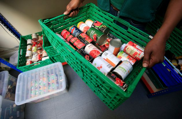 Food banks are handing out more parcels than ever