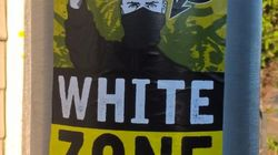Police Probe As Racist 'White Zone' Posters Appear In