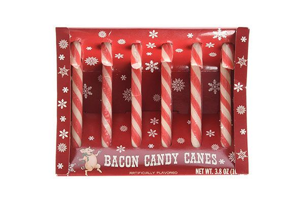 "Of course bacon has made its way into the candy cane world.<strong><br><br>Get the <a href=""https://www.amazon.com/Archie-McP"