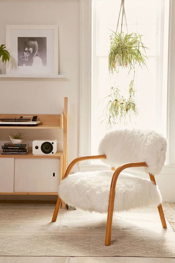 """Andy Shaggy Chair, $498, <a href=""""http://www.urbanoutfitters.com/urban/catalog/productdetail.jsp?id=38738258&category=A_F"""