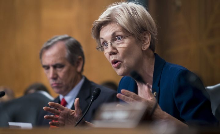 Sen. Elizabeth Warren (D-Mass.) said she would support Scott Brown if he was nominated as VA secretary.