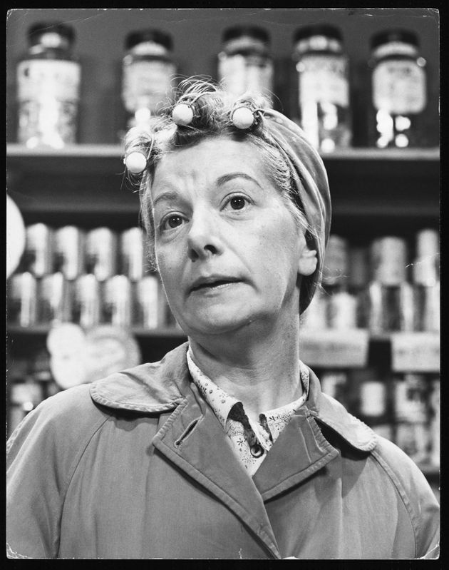 Jean Alexander as Hilda Ogden in