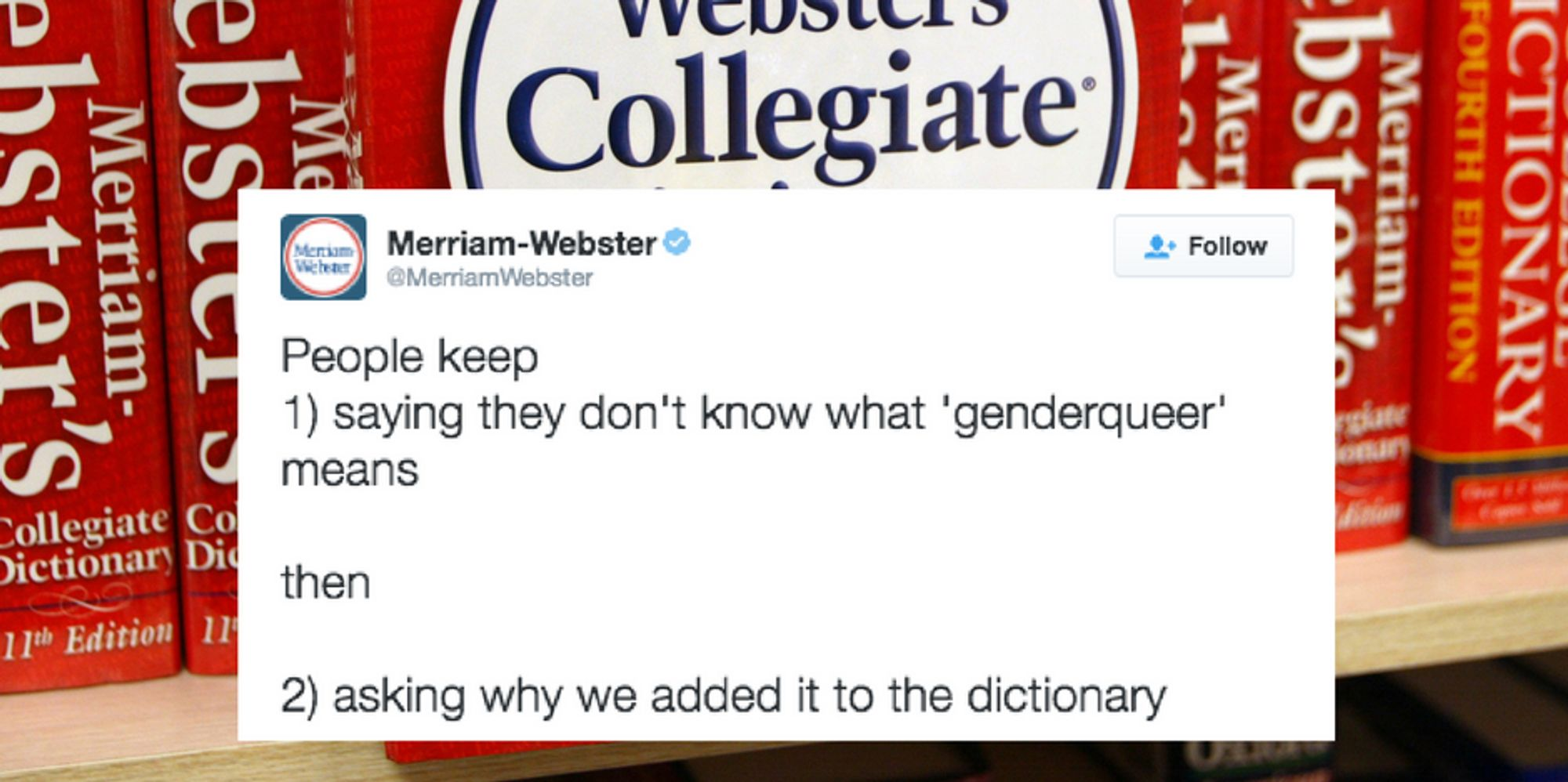 merriam webster has become a hilarious shade throwing lgbtq ally merriam webster has become a hilarious shade throwing lgbtq ally the huffington post