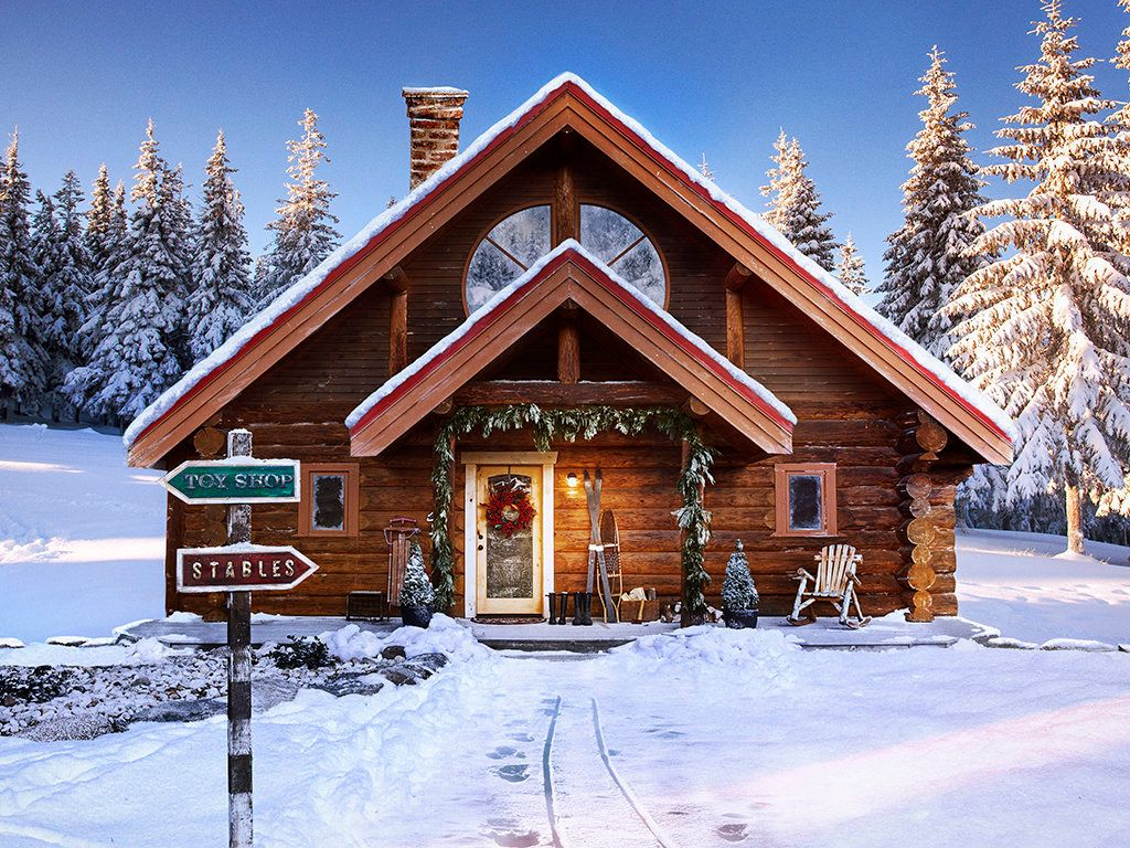 Now Santas House In The North Pole Is Listed On Zillow HuffPost