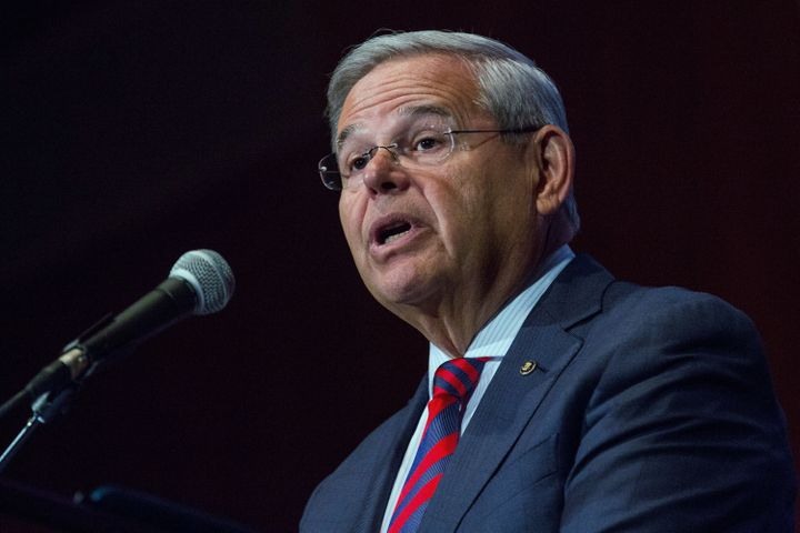 Sen. Bob Menendez (D-N.J.), one of the most outspoken critics of the Iran nuclear deal and one of few Democrats to vote again