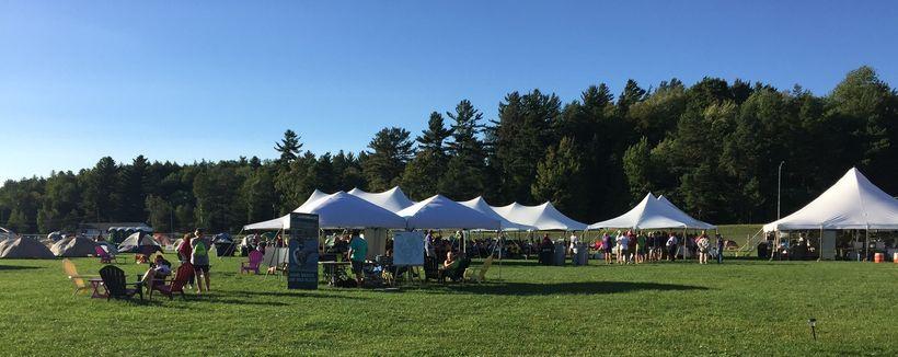 Tent City at Camp