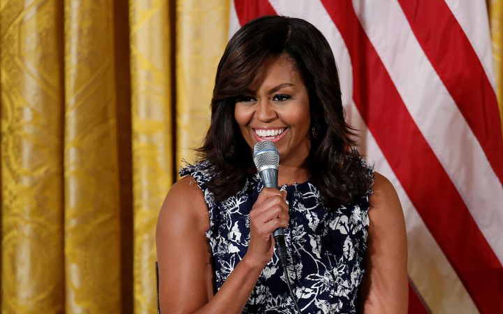 First Lady Michelle Obama, who graduated from Harvard Law and Princeton University, also had her education criticized by Herr