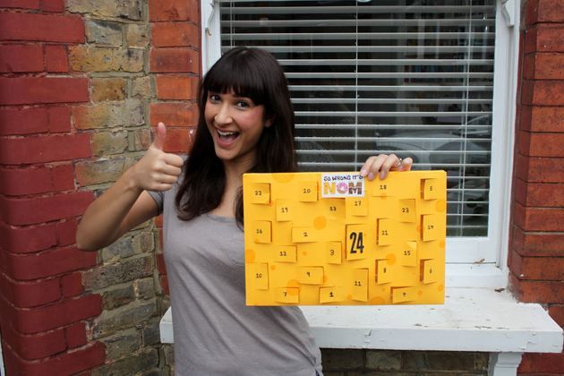 Could this be the world's first cheese advent calendar?