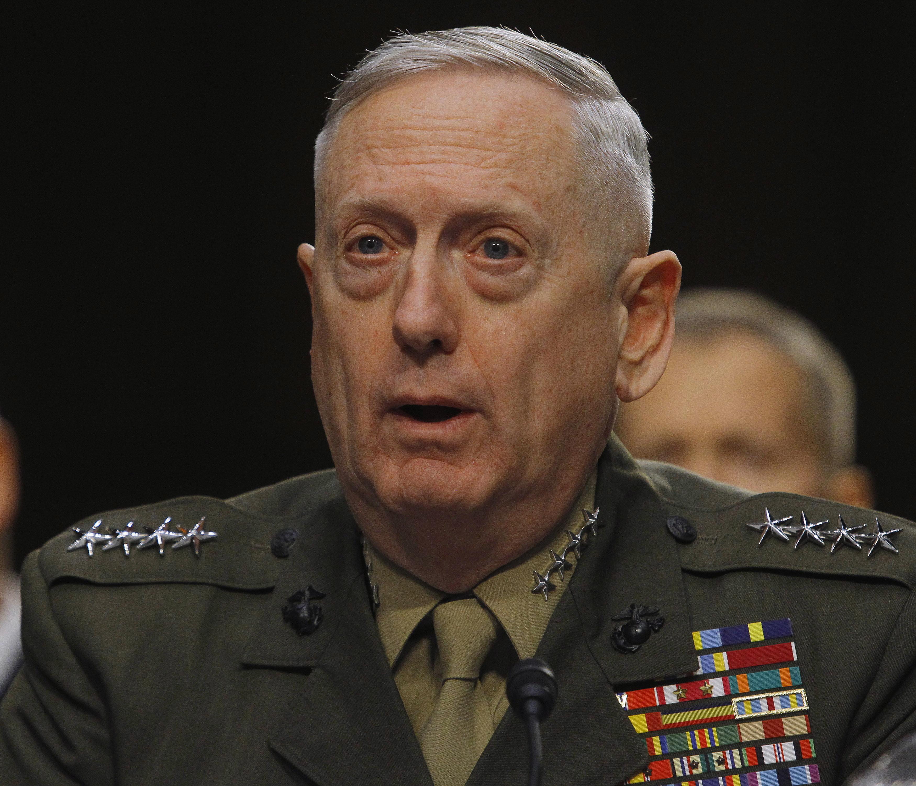 Donald Trump Taps Retired Gen. James Mattis As Defense