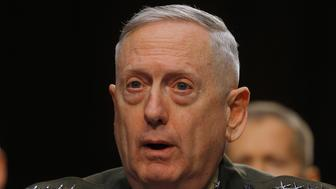 U.S. Marine Corps General James Mattis testifies before the Senate Armed Services Committee in Washington March 5, 2013, with regard to the Defense Authorization Request for fiscal year 2014. REUTERS/Gary Cameron (UNITED STATES - Tags: MILITARY POLITICS PROFILE HEADSHOT)