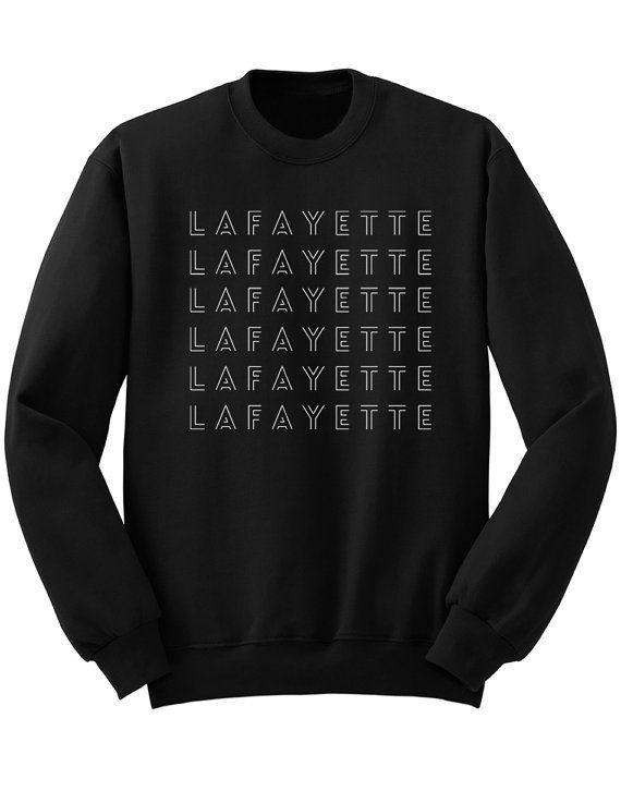 """$25.00. <a href=""""https://www.etsy.com/listing/471157941/lafayette-sweatshirt-hamilton-shirt?ga_order=most_relevant&ga_sea"""