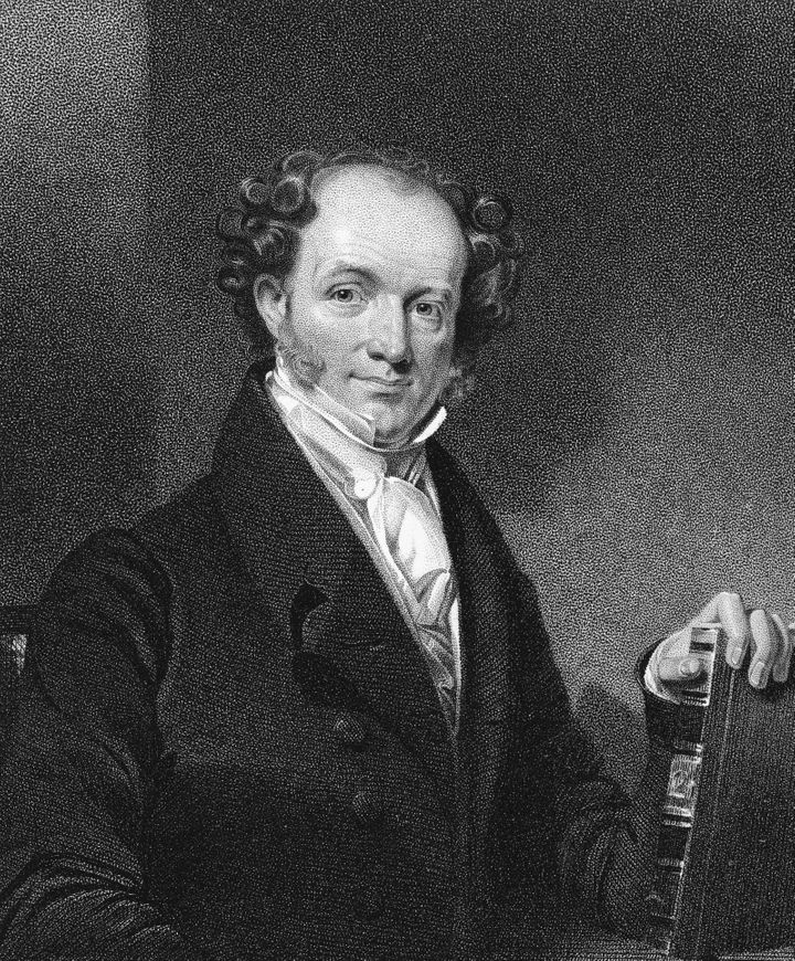 Martin Van Buren, the eighth president of the United States, received gifts from a foreign dignitary that he believ