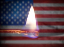 Most Americans Think Trump's Position On Flag Burning Goes Too Far