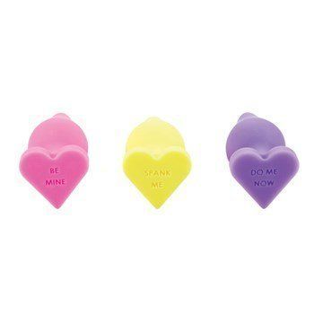 "The cutest butt plugs there ever were. <br><br>$17.95, Adam & Eve. <a href=""http://www.adameve.com/adult-sex-toys/an"