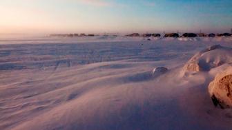 The community of Paulatuk Northwest Territories lies near the new Anguniaqvia niqiqyuam Marine Protected Area